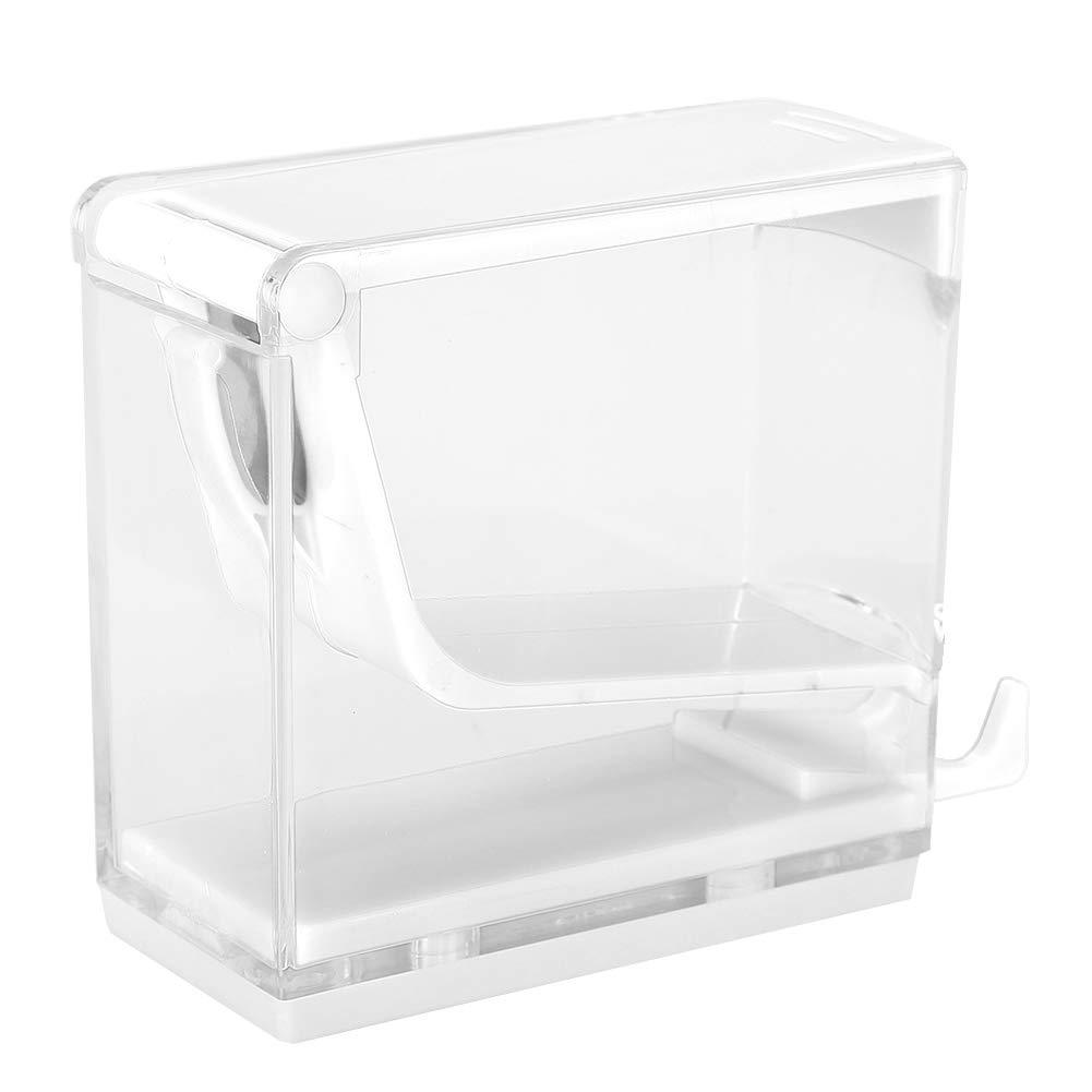 dispenser di rotolo di Cotone Splitter di pressa Tipo Holder 4/Colori scatola portaoggetti per bastoncini di Cotone bianco