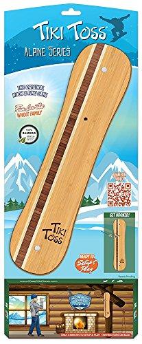 Tiki Toss Alpine Series Snowboard Edition Toss Game