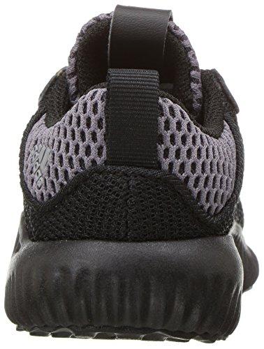 adidas Kids' Alphabounce Running Shoe, Black/White/Utility Black, 10 Medium US Toddler by adidas (Image #2)
