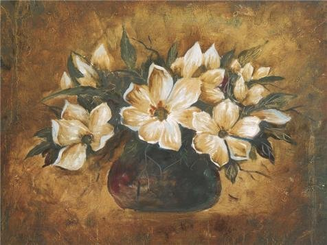 The High Quality Polyster Canvas Of Oil Painting 'Flowers In The Vase' ,size: 16x21 Inch / 41x54 Cm ,this Cheap But High Quality Art Decorative Art Decorative Canvas Prints Is Fit For Home Office Gallery Art And Home Artwork And (Cheetah Print Lip Tattoos)