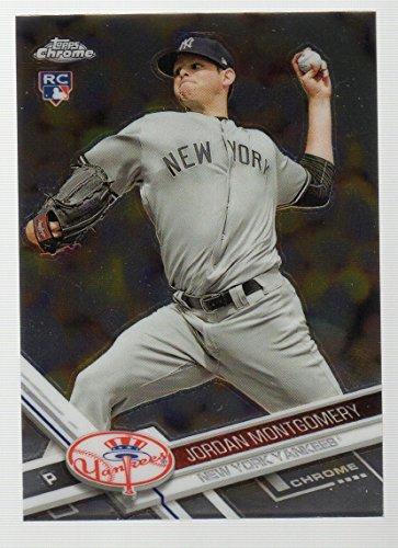 (2017 Topps Chrome #24 Jordan Montgomery RC New York Yankees)