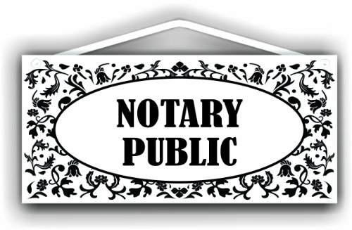 MySigncraft Notary Public Sign for Indoor or Outdoor ()