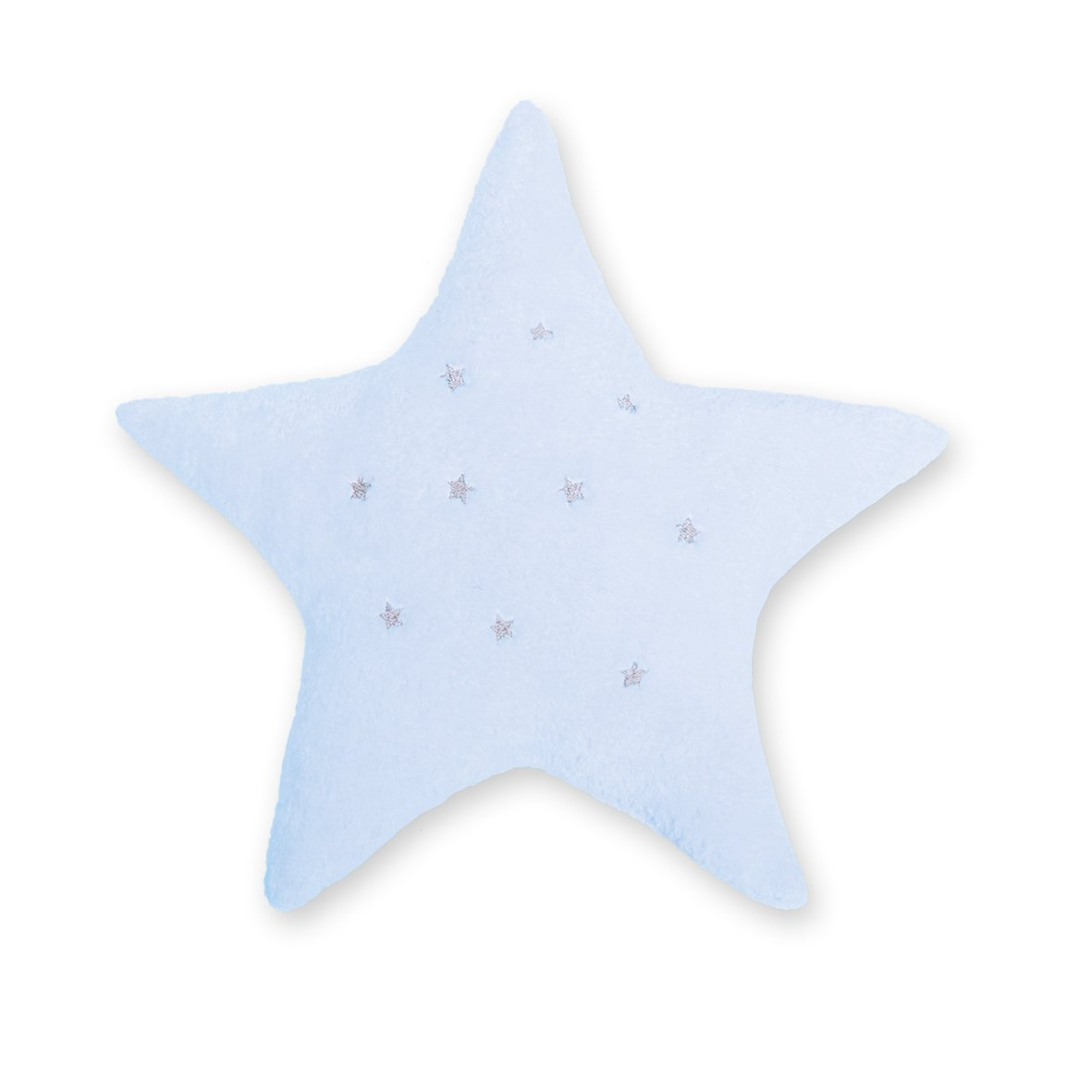 Bemini Cushion, Star Softy Stary Ecru 20 BABY BOUM UK 554STASS20SF