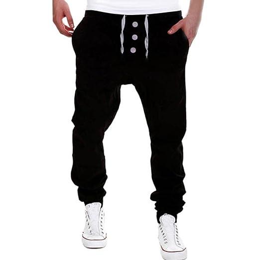Mens Trousers Sweatpants Harem Hip Hop Pants Slacks Casual