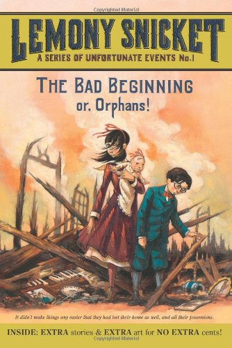Book cover for The Bad Beginning