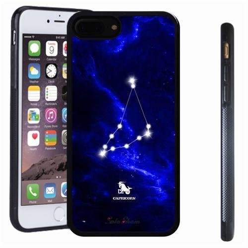 iphone 7 8 Plus case, SoloShow(R) Slim Shockproof TPU Soft Case Rubber Silicone for Apple iphone 7 8 Plus [Capricorn]
