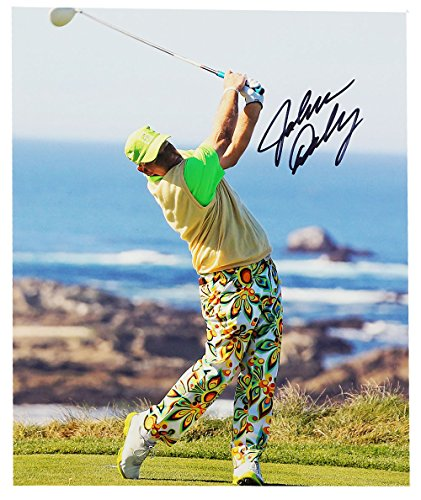 - John Daly Golf Autographed 8 X 10 PictureShagadelic White Pants