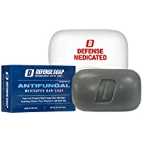 Defense Antifungal Medicated Bar Soap   FDA Approved Treatment for Athlete's Foot Fungus and Intensive Treatment for Fungal Infections of The Skin