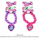 My Little Pony Beaded Bracelet with Heart Charm - Assorted Styles