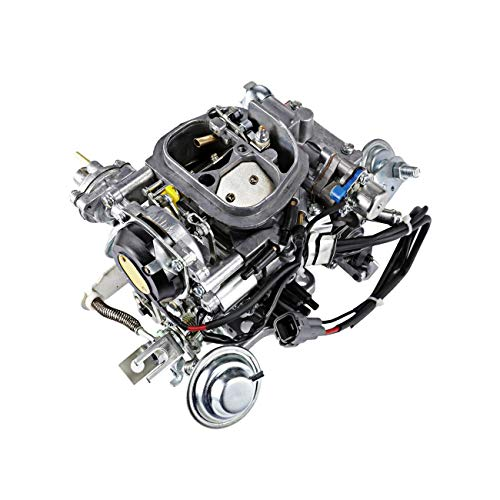 (ALAVENTE 21100-35463 Carburetor Carb for Toyota 22R Engine 21100-35570 TOY-507 1988-1990 Pickup 1981-1988 Hilux 1984 Celica 1984-1988 4Runner with Square Plug (automatic)