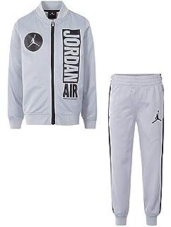 349f835b3645f6 Amazon.com  NIKE Jordan Boys Two Piece Classic Varsity Jacket ...