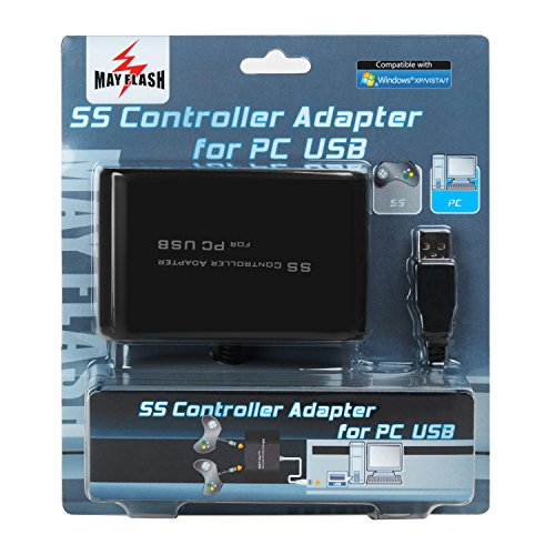Mayflash SS Sega Saturn Controller Adapter Converter for PC