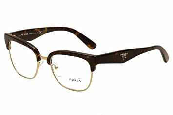 f013424362f Image Unavailable. Image not available for. Color  Prada Eyeglasses VPR 30R  2AU-1O1 Havana 52mm
