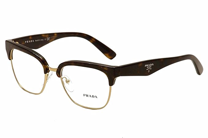 06852d881480 Image Unavailable. Image not available for. Colour  Prada Eyeglasses PR30RV  2AU1O1 Havana 52 18 140