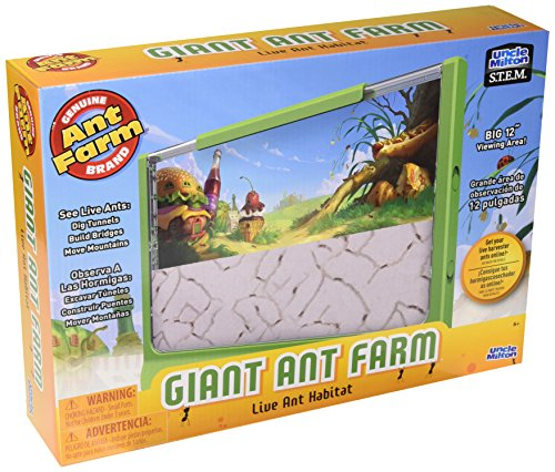 Uncle Milton Giant Ant Farm New Design (Jumbo Postage)