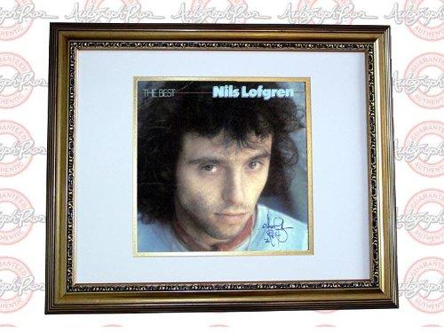 Nils Lofgren Autograph Signed The Best LP Album & Proof AFTAL - PSA/DNA Certified