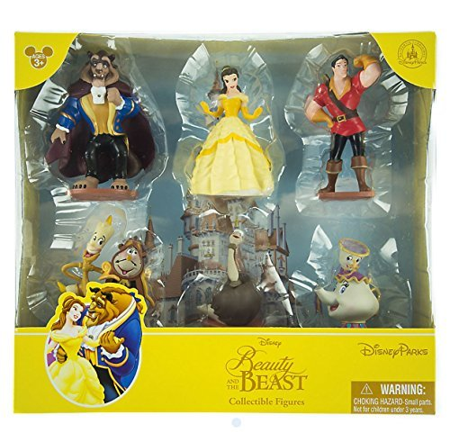 Disney Parks Beauty and the Beast Collectible Figures Set