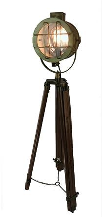 old style lighting. Movie Studio Tall Light Post Tripod Brass Fnsh Spot Floor Lamp Vintage Old Style Lighting