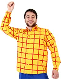 Sheriff Woody Cowboy Costume Shirt