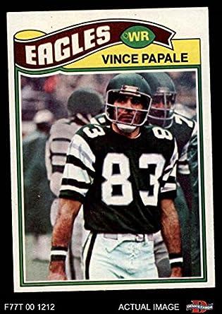finest selection 65c79 fa4c9 Amazon.com: 1977 Topps # 397 Vince Papale Philadelphia ...