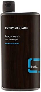 product image for Every Man Jack Body Wash and Shower Gel, Signature Mint, 16.9 oz - 2pc