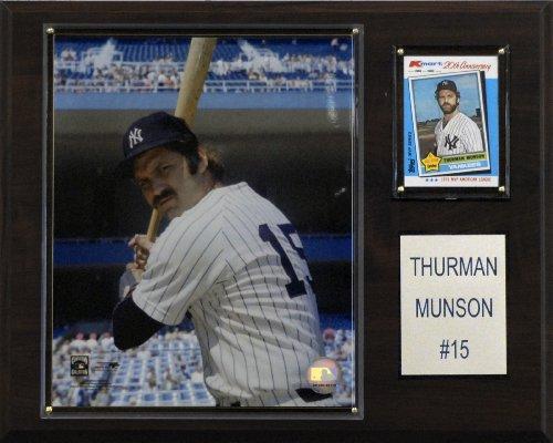 MLB Thurman Munson New York Yankees Player Plaque