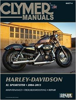 Harley-Davidson XL883 XL1200 Sportster 2004-2013 Clymer ...