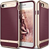 Caseology Wavelength Series iPhone 8/7 Cover Case with Pattern Slim Protective for Apple iPhone 7 (2016)/iPhone 8 (2017) - Burgundy