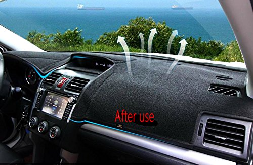 Fly5d Dashboard Cover Dash Mat Pad For 2012 9 2016 Subaru