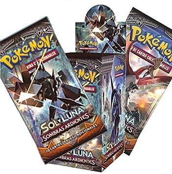 Pokemon JCC- Caja de 18 Sobres de: Sol y Luna: Sombras Ardientes ...