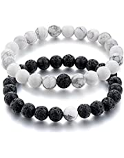 Peora Natural Stones Healing Properties Reiki/Yoga Distance Bracelet
