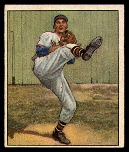 Baseball MLB 1950 Bowman #19 Warren Spahn EX Excellent Bos Braves