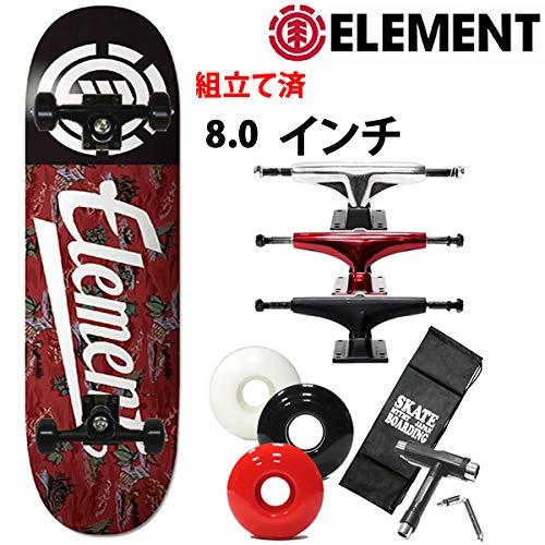 (お得な特別割引価格) ELEMENT(エレメント) element スケボー コンプリート エレメント ELEMENT 完成品 RIVER RATS SCRIPT B07R4YKCH6 8.0x32.06インチ element 027-101 スケートボード 完成品 B07R4YKCH6 ブラックトラック|レッドウィール レッドウィール ブラックトラック, ヤマノウチマチ:0d430bb9 --- 4x4.lt