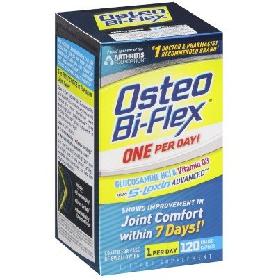 Osteo Bi-flex, 1 Per Day, 120 Coated Caplets, Health Care Stuffs