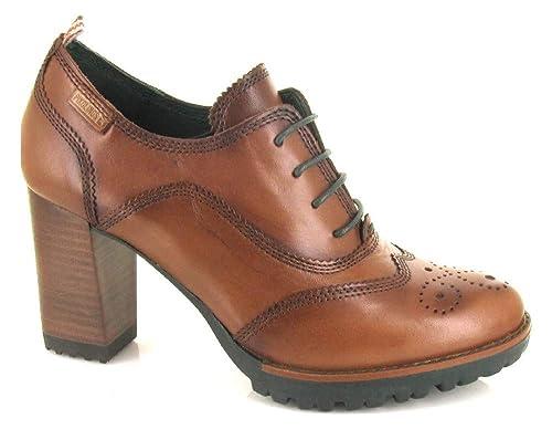 7c1d9543 Pikolinos, Connelly W7M-7630 Cuero, Blucher Cuero de Mujer, Talla 40:  Amazon.es: Zapatos y complementos