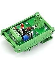 electronics-salon montaje en riel DIN +/-30amp AC/DC Corriente Sensor Module, basado en ACS712