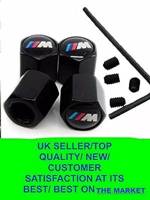 Tapacubos antipolvo de aleación para válvulas de neumáticos de BMW M Power, antirrobo