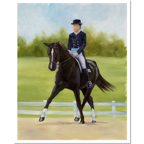 Michelle Moate Horse - Trademark Fine Art Horse of Sport XII by Michelle Moate Canvas Wall Art, 18x24-Inch
