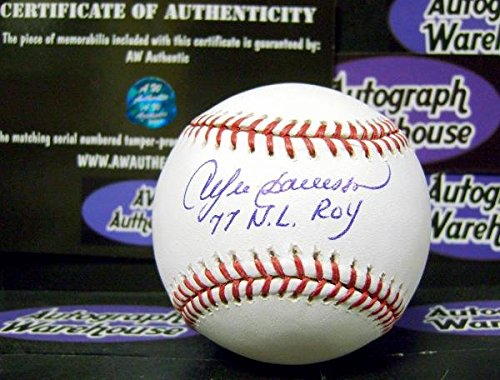 Andre Dawson autographed Baseball inscribed 77 NL ROY ()