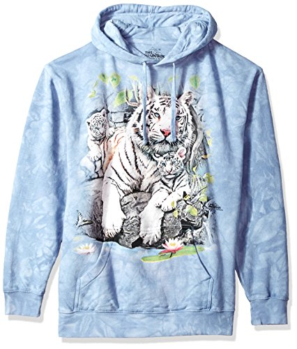 The Mountain White Tigers Bengal Hooded Sweatshirt,