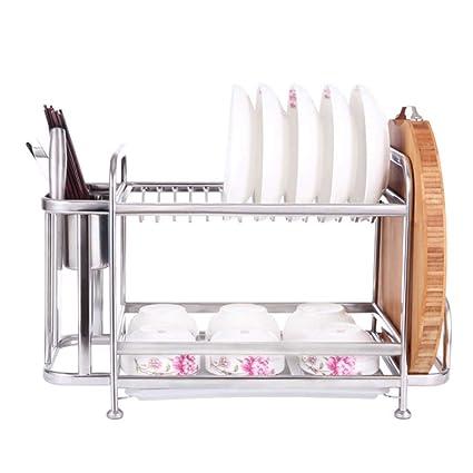 Cubertería la Rejilla - Estante para Platos de Acero Inoxidable Cocina, Cubiertos de Cocina 2