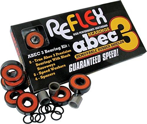 Reflex ABEC-3 Bearing Shield (Reflex Abec Bearings)