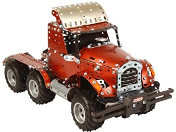 Meccano Jeu construction Design Camion dp BAZ