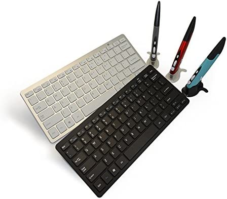 Random Pen Mouse Color Delivery Black Accessories for Computer KM-808 2.4GHz Wireless Multimedia Keyboard Color : White Wireless Optical Pen Mouse with USB Receiver Set for Computer PC Laptop