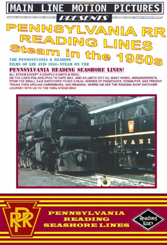 Pennsylvania Reading Seashore Lines, Steam in the 1950s [DVD] [2000]