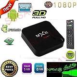 (US) Susay® MXIII Android 4.4.2 4K TV Box Amlogic S802 CPU Quad Core Octa core ARM Mali-450 GPU 8GB ROM 2.4G Wifi with Remote Control (2G)