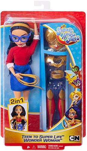 514VOXmtYFL - DC Super Hero Girls Teen to Super Life Wonder Woman Doll