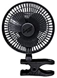 Amazon Price History for:Comfort Zone -6 INCH- -2 Speed - Adjustable Tilt, Whisper Quiet Operation Clip-On-Fan with 5.5 Foot Cord and Steel Safety Grill , Black
