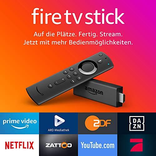 Fire Tv Stick Mit Der Neuen Alexa Sprachfernbedienung Streaming
