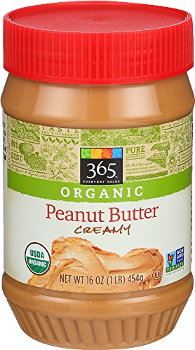 365 Everyday Value, Organic Creamy Peanut Butter Spread, 16 oz